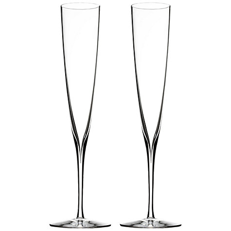 Buy Waterford Elegance Champagne Trumpets, Set of 2 Online at johnlewis.com