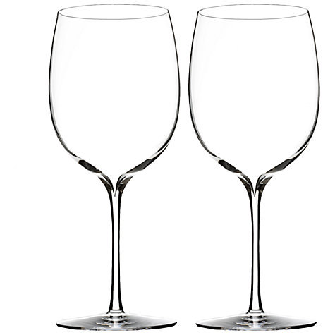 Buy Waterford Elegance Bordeaux Wine Glasses, Set of 2 Online at johnlewis.com