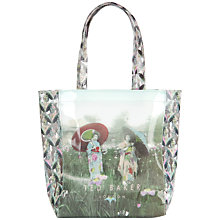 Buy Ted Baker Flecon Small Shopper Handbag, Powder Blue Online at johnlewis.com
