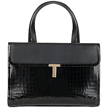 Buy Ted Baker Kissels Leather Tote Handbag Online at johnlewis.com