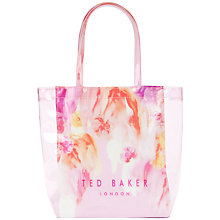 Buy Ted Baker Sweecon Small Shopper Bag, Pink Online at johnlewis.com