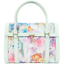 Buy Ted Baker Tahara Tote Handbag, Pale Green Online at johnlewis.com