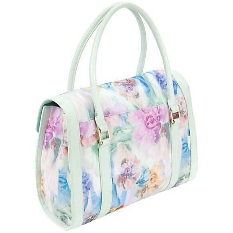Buy Ted Baker Tahara Tote Bag, Pale Green Online at johnlewis.com