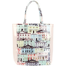 Buy Ted Baker Regcon Large Shopper Handbag, Light Grey Online at johnlewis.com
