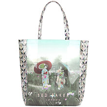 Buy Ted Baker Uncon Large Shopper Handbag, Powder Blue Online at johnlewis.com