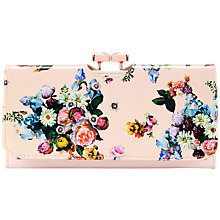 Buy Ted Baker Enna Leather Matinee Purse, Nude Pink Online at johnlewis.com