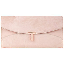 Buy Ted Baker Jamun T Clasp Clutch Handbag Online at johnlewis.com