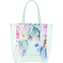 Buy Ted Baker Sugacon Large Shopper Handbag, Pale Green Online at johnlewis.com