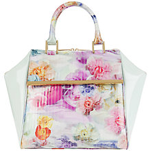 Buy Ted Baker Trevis Large Tote Handbag, Pale Green Online at johnlewis.com