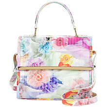 Buy Ted Baker Davena Across Body Handbag, Pale Green Online at johnlewis.com