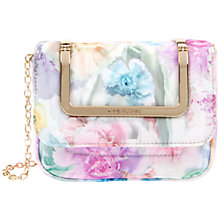 Buy Ted Baker Sweeta Clutch Handbag, Pale Green Online at johnlewis.com