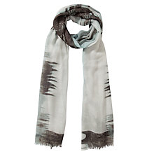 Buy COLLECTION by John Lewis London Scene Print Modal Scarf, Neutral Online at johnlewis.com