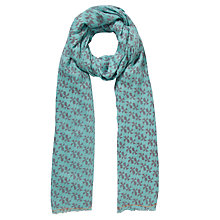 Buy Collection WEEKEND by John Lewis Windmill Print Scarf, Blue Online at johnlewis.com