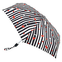 Buy Lulu Guinness Stripes & Lips Tiny Umbrella, Multi Online at johnlewis.com