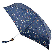 Buy Cath Kidson Scattered Stars Tiny Umbrella, Navy Online at johnlewis.com
