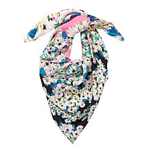 Buy COLLECTION by John Lewis Floral Kaleidescope Print Silk Scarf, Multi Online at johnlewis.com
