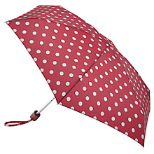 Buy Cath Kidson Spot Tiny Umbrella, Cranberry Online at johnlewis.com