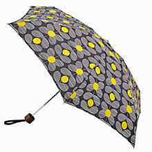 Buy Orla Kiely Daisy Stem Print Umbrella Giftbox, Navy Online at johnlewis.com