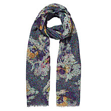 Buy John Lewis Digital Pixelated Floral Scarf, Multi Online at johnlewis.com