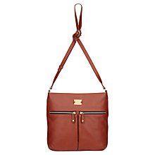 Buy Modalu Pippa Leather Across Body Bag Online at johnlewis.com