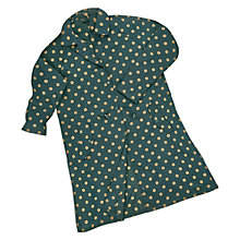 Buy Cath Kidston Spot Raincoat, Forest Green Online at johnlewis.com