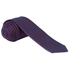 Buy CK Calvin Klein Multimicro Pindot Silk Tie Online at johnlewis.com