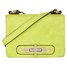 Buy Oasis Shani Satchel, Lime Green Online at johnlewis.com