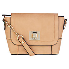 Buy Oasis Coral Skye Satchel, Coral Online at johnlewis.com