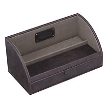 Buy Jacob Jones Valet Case, Khaki Online at johnlewis.com