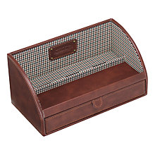 Buy Jacob Jones Checked Valet Box Online at johnlewis.com