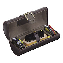 Buy Jacob Jones Shoe Shine Kit, Khaki Online at johnlewis.com