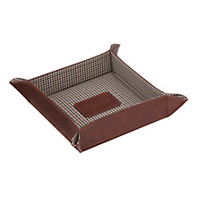 Buy Jacob Jones Checked Coin Tray Online at johnlewis.com