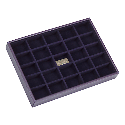 Stackers Jewellery 25-sections Tray, Purple