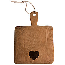 Buy Dassie Wooden Heart Paddle Board Online at johnlewis.com