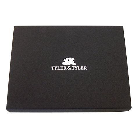 Buy TYLER & TYLER Union Jack Card Holder, Black Online at johnlewis.com