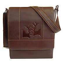 Buy TYLER & TYLER Rut Leather Messenger Bag Online at johnlewis.com