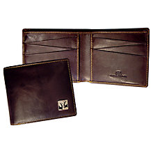 Buy TYLER & TYLER Rut Billfold Wallet, Brown Online at johnlewis.com
