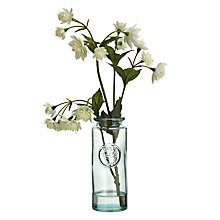 Buy John Lewis Croft Collection Artificial Astrantia Vase, White Online at johnlewis.com