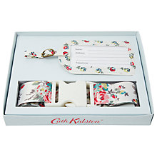 Buy Cath Kidston Elgin Ditsy Luggage Strap and Tag Set Online at johnlewis.com
