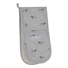 Buy Sophie Allport Terrier Double Oven Glove Online at johnlewis.com