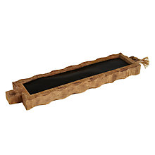 Buy John Lewis Wooden Tealight Tray Online at johnlewis.com
