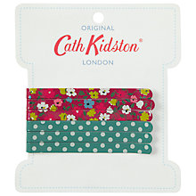 Buy Cath Kidston Bow Bells and Mini Dots Hair Pins Online at johnlewis.com