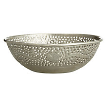 Buy John Lewis Decorative Iron Bowl, Dia.20cm Online at johnlewis.com