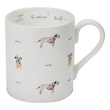 Buy Sophie Allport 'I said sit!' Terrier Mug Online at johnlewis.com