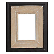 "Buy Photo Frame, Black & Natural, 4 x 6"" (10 x 15cm) Online at johnlewis.com"
