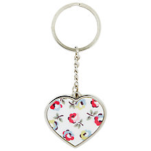 Buy Cath Kidston Elgin Ditsy Metal Keyring Online at johnlewis.com