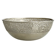 Buy John Lewis Decorative Iron Bowl, Dia.56cm Online at johnlewis.com