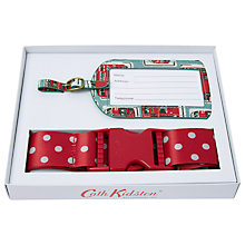 Buy Cath Kidston London Buses Luggage Strap and Tag Set Online at johnlewis.com