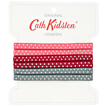 Buy Cath Kidston Multi Mini Dot Hair Elastics Online at johnlewis.com