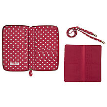 Buy Cath Kidston Little Spot Travel Wallet Online at johnlewis.com